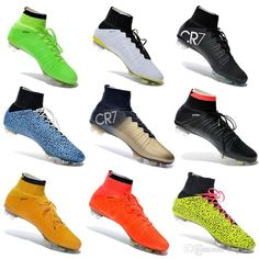 Buy 2015 Mercurial Superfly FG Soccer Shoes High Ankle Football Boots ACC Men Outdoor Superfly CR7 Cleats With Free Bag And Socks Online with the Low Price: $54.98 | DHgate.com