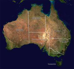 Interactive map of Deserts of Australia Coast Australia, South Australia, Australia Travel, Space Australia, Western Australia, Tasmania, Celle Que Vous Croyez, Facts About Australia, New Zealand Beach