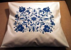 Embroidered pillow cases, cushion covers. Hungarian embroidery shop.