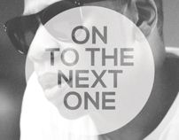 On To The Next One by Max Do, via Behance