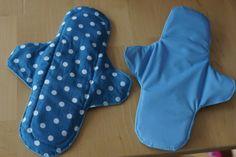 Nachhaltige Monatshygiene: Slipeinlagen und Binden selbst nähen – bluebottles