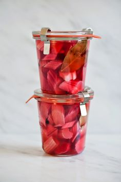 Life Love Food: Pickled Rhubarb
