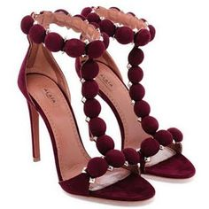 Alaia Red Shoes Azzedine Alaia Shoes Azzedine
