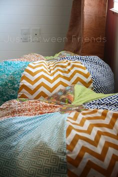 DIY Beanbag chair - do one of these in nice fabrics for the living room to snuggle up on