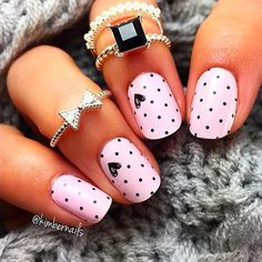 Ready to get your nails looking super pretty this year? Look no further for inspiration! We have found 12 Super Cute Valentine's Day Nail Designs! We tried to find the cutest Valentine's Nail Designs that were also very unique and super artistic. 12 Super Cute Valentine's Day Nail Designs Buy Nail Polish Here: Next –>
