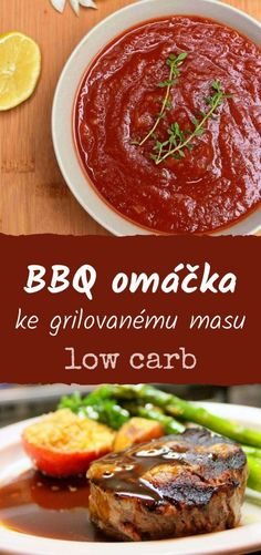 Domácí grilovací BBQ omáčka low carb « LadyLowCarb.cz Low Fodmap, Meals For Two, Lchf, Lowes, Low Carb Recipes, Chili, Bbq, Ethnic Recipes, Food