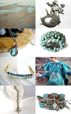 Mermaid dreams by Kat Selvaggio on Etsy--Pinned with TreasuryPin.com