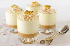 Cheesecake alle pere e zenzero