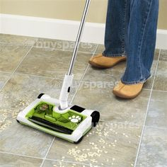 Sweeper for Camping