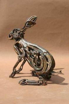 Horseshoe Hare-THE BRITISH ANIMAL GALLERY Harriet Mead