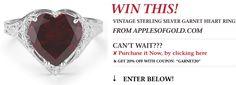 Jewelry Sweepstakes - http://applesofgold.com/sweesptakes