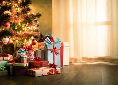 Kate Christmas Backdrops Photography Wood Floor Christmas Tree Background White Curtain for Newborn Photo Backdrop Christmas Photography Backdrops, Christmas Backdrops, Christmas Photo Booth, Christmas Photos, Living Room Wood Floor, Christmas Tree Background, Easy Diy Christmas Gifts, Christmas Decor, Photo Backgrounds