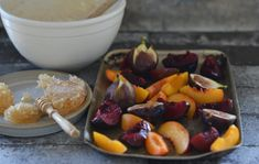 Maggie Beer's Honey Roasted Stone Fruit