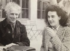 Leonora Carrington British-born Mexican surrealist painter with her Lover Max Ernst (German Surrealist) Max Ernst, Tristan Tzara, Man Ray, Dora Carrington, Women's Liberation Movement, Painter Photography, Hans Thoma, Victor Brauner, Dorothea Tanning