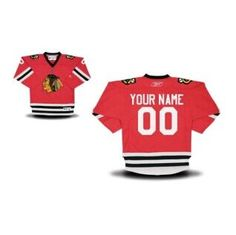 be9069a900462 Reebok Chicago Blackhawks Infant Replica Home Custom Jersey - Red - Bunny s  coming home outfit