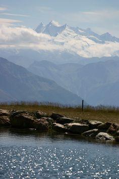Fleschensee in Bellwald auf 2050 M.ü.M, Valais