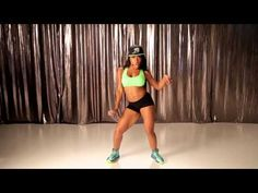 Want to drop it low AND work on your abs? Dance it out with the Hip Roll dance workout from Keaira LaShae.