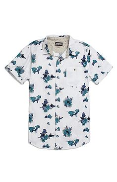 Modern Amusement Painter Short Sleeve Woven Shirt at PacSun.com