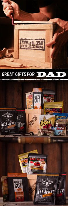 Is your dad a perpetual snacker? Spare him from the off-the-shelf beef leather-based they hawk at comfort shops this Father's Holiday Fun, Holiday Gifts, Christmas Gifts, Christmas Ideas, Christmas 2017, Great Gifts For Dad, Gifts For Him, Craft Gifts, Diy Gifts