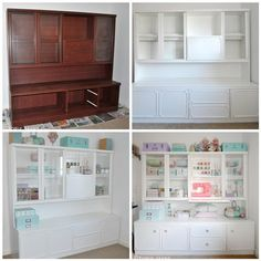 MY 99P CRAFT ROOM DRESSER - A MAKEOVER | by toriejayne