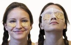 Potatoes are loaded with the natural bleaching agents which can help you remove all kinds of skin scars, and that is one reason that you can use it for your dark circles too, you just need to take few peels of potato and make a fine paste of it and apply it over your eyes and the skin around your eyes and wash it off with cold water.