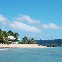 Hideaway Island Vanuatu underwater post office!