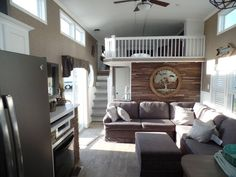 Check out this 2016 Kropf Island Super Double Loft 5062 Front Kitchen listing in Milton, WI 53563 on RVtrader.com. It is a Park Model and is for sale at $84416.