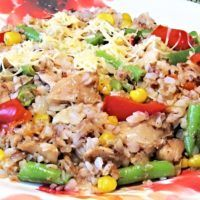 Recept : Rizoto z pohanky   ReceptyOnLine.cz - kuchařka, recepty a inspirace Lunch Recipes, Cooking Recipes, Healthy Recipes, Workout Room Home, Workout Programs, Fried Rice, Fitness Tips, Food And Drink, Ethnic Recipes