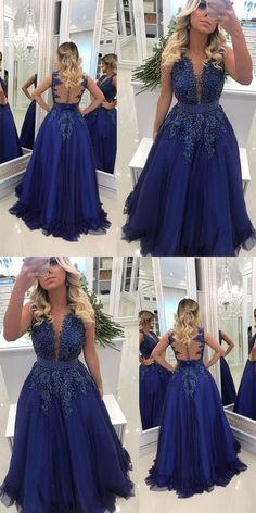 Prom Dresses Ball Gown, A-line Floor Length Prom Dress With Applique and Pearls Semi Formal Dresses Wedding Party Dress, from the ever-popular high-low prom dresses, to fun and flirty short prom dresses and elegant long prom gowns. Wedding Party Dresses, Bridesmaid Dresses, Prom Dresses, Ball Dresses, Long Prom Gowns, Evening Dresses, Semi Formal Dresses, Popular Dresses, Tulle Lace