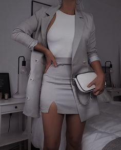 Adrette Outfits, Teen Fashion Outfits, Cute Casual Outfits, Stylish Outfits, Fashion Mode, Suit Fashion, Look Fashion, Elegantes Business Outfit, Elegantes Outfit