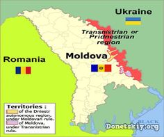 Map of Romania, Moldova, Transnistria, and Ukraine. Republica Moldova, Political Spectrum, Historical Maps, Travel Information, Eastern Europe, Countries Of The World, Tour Guide, Troops, Travel Guide