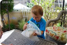 Make your own ice cream... in a bag!