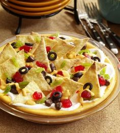 Nacho Cheese Cake-- Great April Fool's Day dessert