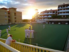 Playing bowls at Wintr Garden in Tenerife by Tevere Travels, via Flickr Tenerife, Bowls, Fair Grounds, Holidays, Garden, Fun, Pictures, Travel, Serving Bowls