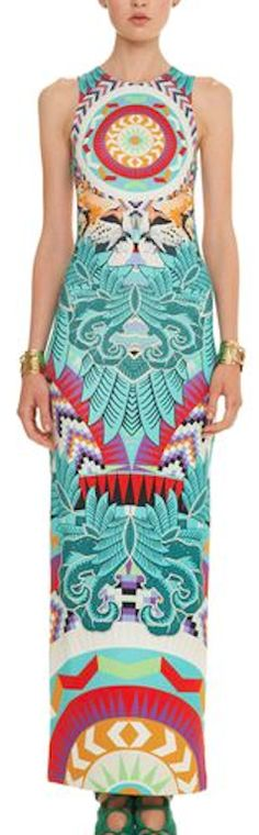 tribal print maxi dress http://rstyle.me/n/hc5emr9te