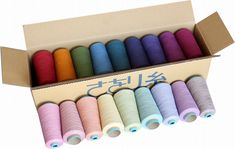 SAORI Yarns - beautiful yarns for warp and weft including cotton, wool, silk, jute, organic cotton and cashmere. Also assorted eco-friendly yarns from mill ends.