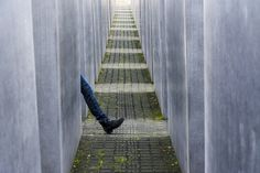 Photograph One step forward by Emy de Lema on Berlin, One Step Forward, Holocaust Memorial, Great Shots, Taking Pictures, First Step, Skyscraper, Photograph, The Incredibles