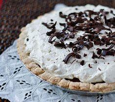 Homemade Baker's Square French Silk Pie from Amanda's Cookin @Amanda Formaro