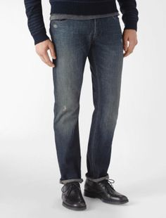 CK Slim Straight Jeans