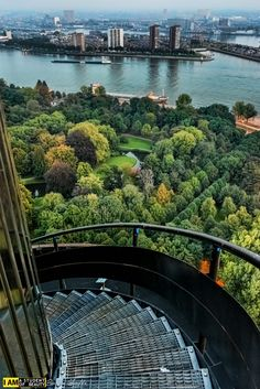 Stairs Of Euromast, Rotterdam by Boaz Yoffe B.Sc. on 500px