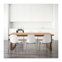 MÖRBYLÅNGA / LEIFARNE Mesa e 6 cadeiras  - IKEA