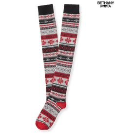 a27617c8162 New Aeropostale Fair Isle Over the Knee Socks ❄ Brand new Aeropostale  Accessories Hosiery   Socks
