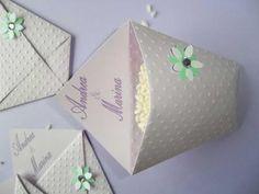 Porta riso, porta confetti per matrimoni..colore lilla e verde