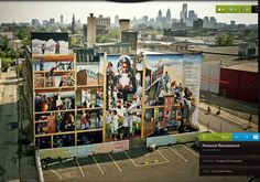Mural Explorer digitizes Philadelphia's anti-graffiti, pro-mural initiative, which aims to make the city one of the world's largest outdoor art galleries. You can view murals by neighborhood and read the stories behind the artwork. Murals Street Art, Mural Art, Pirate Images, Street Image, Best Street Art, Digital Museum, Beautiful Streets, Art Programs, Chiaroscuro