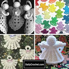 7 Free Crochet Christmas Angel Ornament Patterns For Your Tree