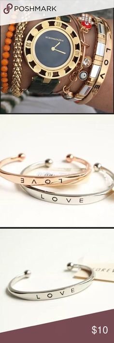 Love bracelet silver gold rose gold fashion unisex Gold plated love bracelet.  Hot fashion!  Adjustable High quality. Plur free choker, slect the number. Jewelry Bracelets
