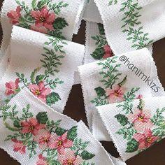 Cross stitch Etamin pike Şerit