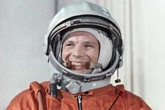 Yuri Gagarin, the first man to fly into space, completed an orbit of the Earth on the Vostok spaceship on 12 April 1961. To commemorate the event, every 12 April Russia celebrates Cosmonautics' Day.