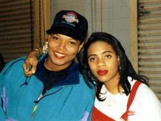 Queen Latifah + MC Lyte