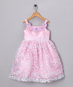 Take a look at this Pink Floral Royal Dress - Toddler & Girls by Pretty Me on #zulily today!